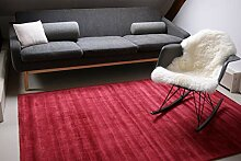 floor factory Moderner Teppich Lounge rot