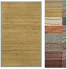 Floordirekt Bambusteppich Bambusmatte mit