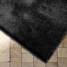 Floordirekt Shaggy-Teppich Prestige | Schwarz |