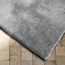 Floordirekt Shaggy-Teppich Prestige | Silbergrau |
