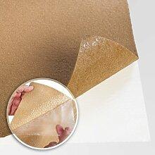 Floori® Comfort Teppichfliesen Nadelfilz - beige - selbstklebend