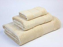 Flor Badetuch aus Baumwolle, 60% Modal, Sand, 30 x