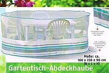 Florabest® Gartenmöbel Schutzhülle, Reißfest, wasserabweisend und UV-beständig 271110 für ovale Gartentische