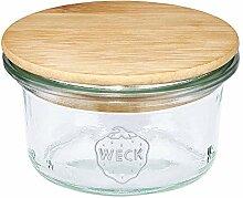 FloraCura WECK Vorratsglas 50ml mit Holzdeckel