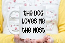 FloradeSweet Hund Mom Kaffee-Haferl Hund Papa