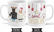 FloradeSweet Soul Sisters Geschenk personalisierte