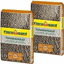 Floragard Blähton Tongranulat zur Drainage 2x25 L