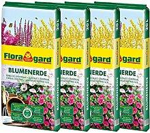 Floragard Blumenerde 4x20 L - Universalerde für