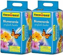 Floragard Blumenerde leicht 2x25 L - Universalerde