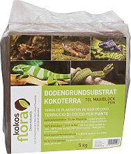 Floragard Pflanzerde Kokosflora Kokoterra, Maxi