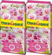 Floragard Spezialerde Orchideenerde, 2x5 Liter 5 l