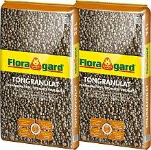 Floragard Tongranulat Blähton, je 25 l grün