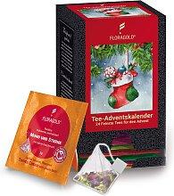 Floragold Tee-Adventskalender 24 Pyramidenbeutel