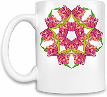 Floral Kaffee Becher