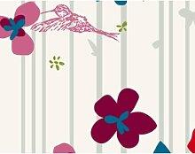 Floral Pattern 39x46x13cm Briefkasten, Standbriefkasten, Briefkästen, FILL ME with 5 WORDS