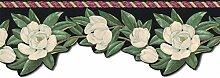 Floral Tapete Bordüre b7503045