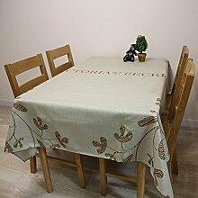 Floral Tischdecke Baumwolle Bettwäsche–memorecool Haustierhaus Einzigartiges Design gut für Home Decor Küche etc.. Rechteck 99,1x 139,7cm, baumwolle, flower1, 55x71inch