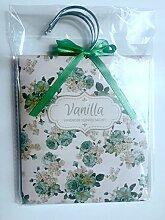 Floral verziert Duft Kleiderschrank Kleiderbügel Beuteln–Pack von 3–Wählen Sie Lavendel/Rose/Vanille/Jasmin
