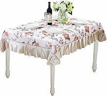 Florale Abwaschbare Tischdecke Verschiedener