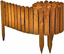 Floranica® Flexibeler Beetzaun 203 cm aus Holz