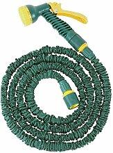 FloraSun Flexibler Gartenschlauch mit Zubehör 7,5
