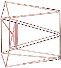 Floridivy Geometrische Eisen Kerzenständer