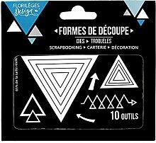 Florilèges Design fdd11712Werkzeuge Dreiecke