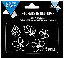 Florilèges Design fdd21617Werkzeuge mit Blumen