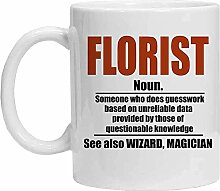 Floristen-Tasse – Lustige Kaffeetasse –