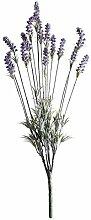 FloristryWarehouse Lavendel Pflanze Künstliche 15Stiel 60cm grün viole