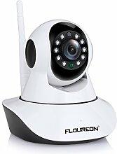 FLOUREON 720P IP Kamera WLAN Überwachungskamera