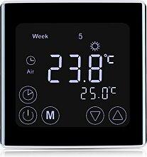 FLOUREON Heizungsthermostat LCD Touchscreen