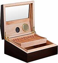 FLOUREON Zigarren Humidor Zigarrenkiste mit