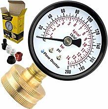 Flow Doctor Wasserdruckmessgerät-Set, Allzweck