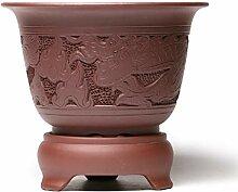 flower pot Lila ton Keramikbeschichtung Handbuch