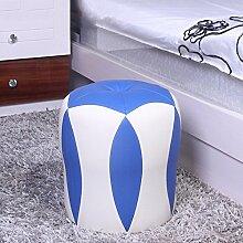 Flower Type Block für Schuhe Hocker Make-up Hocker Hocker Wohnzimmer Pier Wear Schuhe Hocker Sofa Hocker (eine Vielzahl von Stilen optional) ( farbe : F )