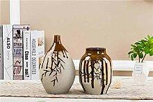 Flower VaseSchöne Bambus glasierte keramische