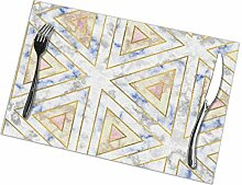 flowerlove Art Deco Marble Pattern (Light) Table
