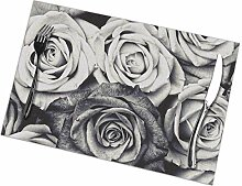flowerlove Roses Table Placemats for Dining