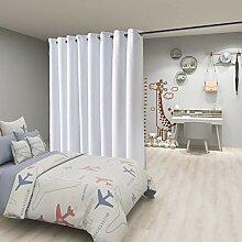 FLOWEROOM Raumteiler Vorhang 4,6m breit x 2,7m