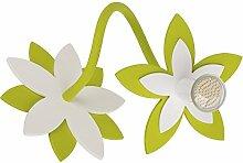 FLOWERS GREEN I Wandleuchte Wandlampe Lampe
