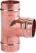 Flowflex c701sr. 12SR Equal Tee, Kupfer/Messing,