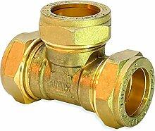 Flowflex p701.03Equal Tee, Kupfer/Messing,