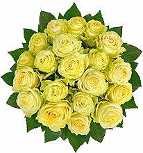 Flowrframe Blumenstrauß Herrlich mit Lime-Rosen