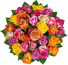 Flowrframe Blumenstrauß Sonne pur mit bunten