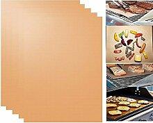 FLT 5PCS BBQ Grill Matte Aluminiumguss Grillen