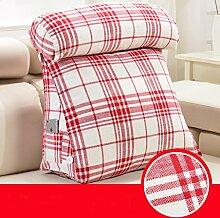 Flüssig Triangle Nacht Kissen Rückenlehne Nackenkissen Büro-Sofa-Kissen ( farbe : # 6 , größe : 45*45cm )