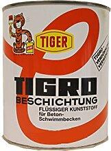 Flüssiger Kunststoff Tiger Tigro mittelgrau 63