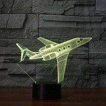 Flugzeug Touch Tischlampe Passagierflugzeug 7