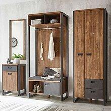 Flur Garderoben Komplettset im Industrial-Design